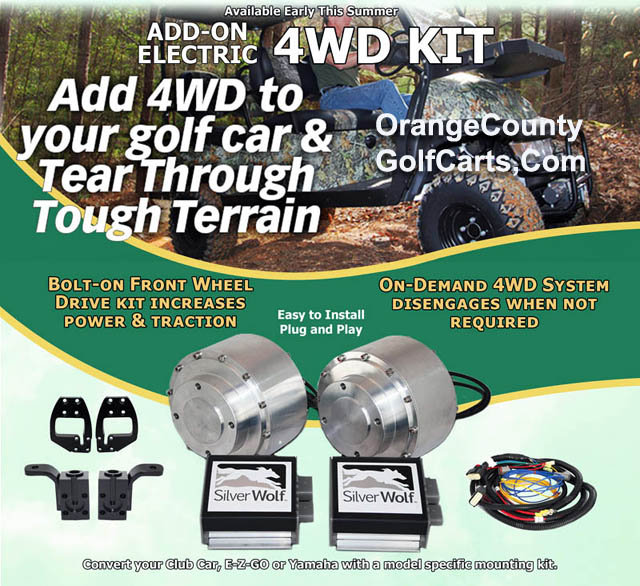 Golf Cart 4 Wheel Drive kit