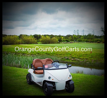 garia luxury golf car