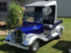 custom luxury golf carts Diane