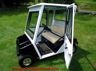 GOLF CART CABS ENCLOSURES