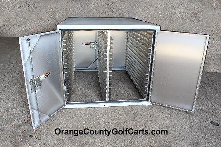 golf cart food box