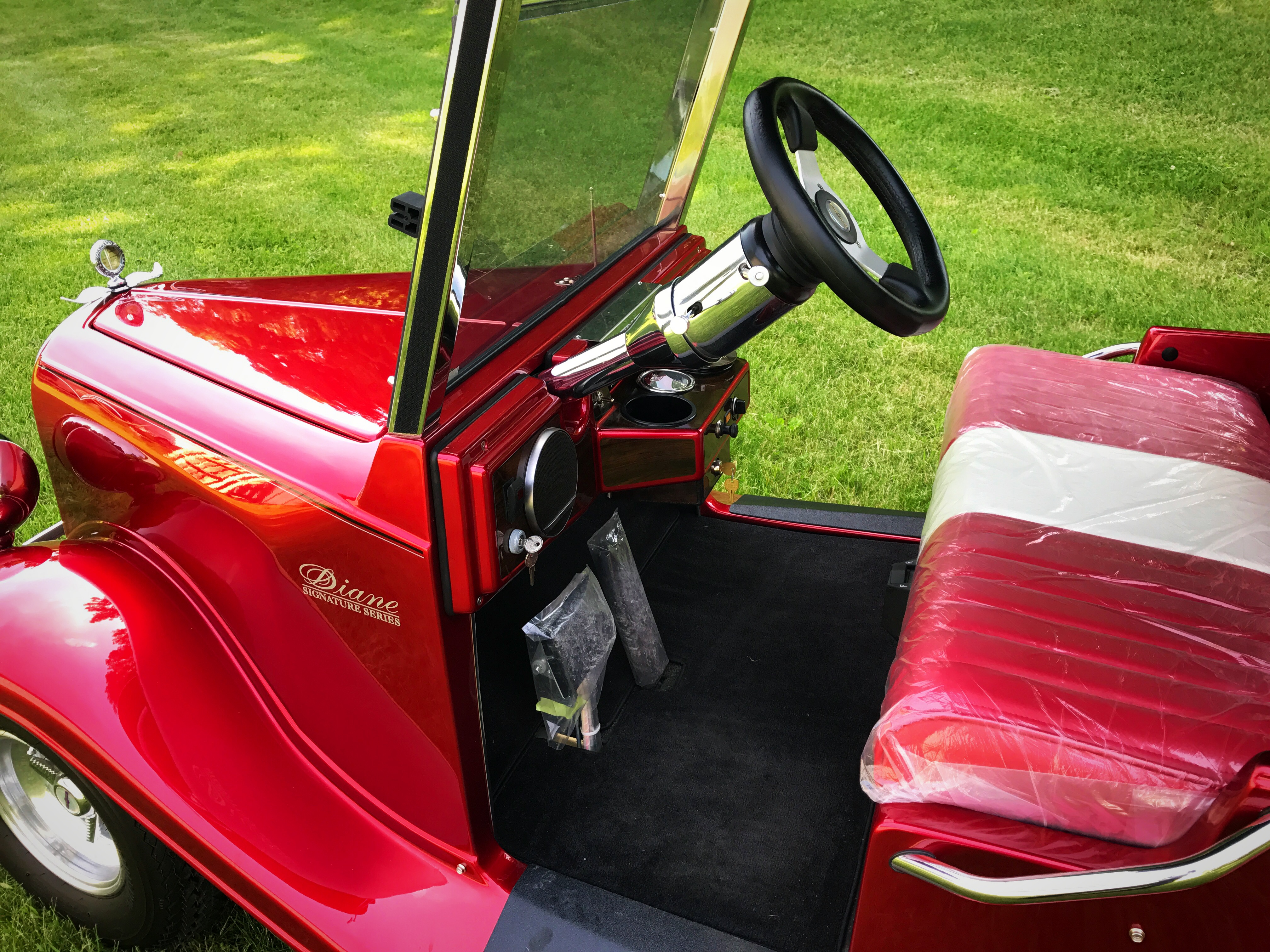 """Diane""  Series Streetrod golf car"