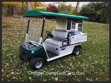 Beverage used cart