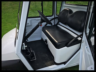Precedent Security Golf Cart