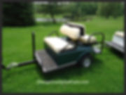 Golf Cart Towed Carts