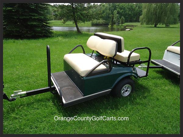 Golf Cart Towed Carts