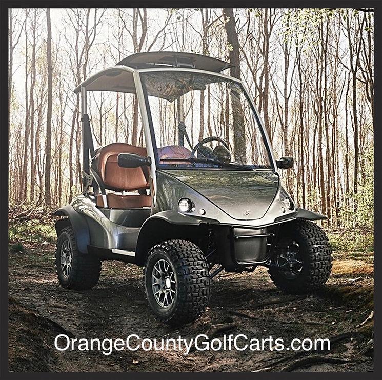 Garia off-X golf cart lifted