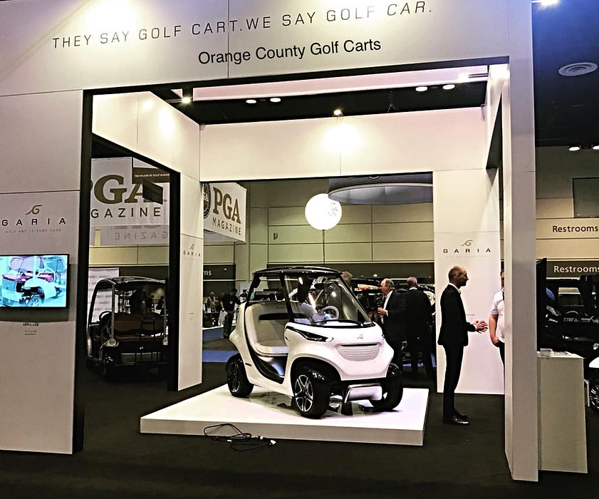Mercedes Benz Garia Golf Car