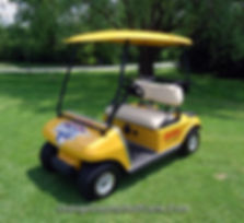DHL golf cart