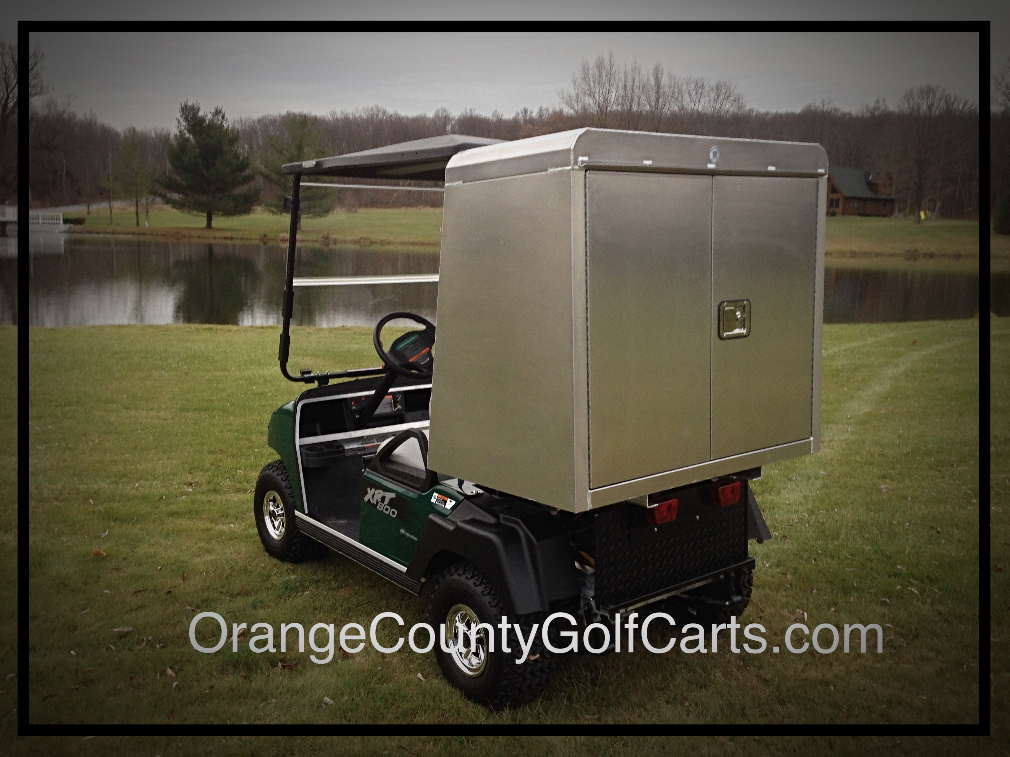 GOLF CART FOOD BEVERAGE Golf Course Transport Cart Bluetooth Remote on