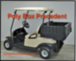 golf cart rear box