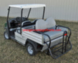 carryall rear sear golf cart