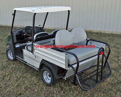 carryall rear sear golf cart