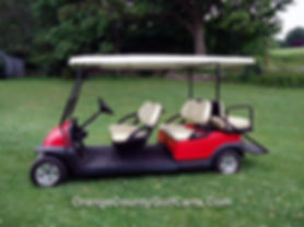 6 seat golf cart