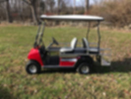 BRUTE II  mini-ambulance EMT golf cart