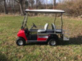 BRUTE II mini-ambulance EMT golf cart