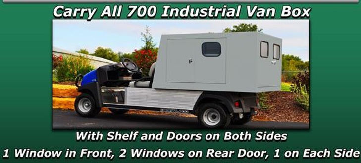 Carryall 700 industrial Van Box