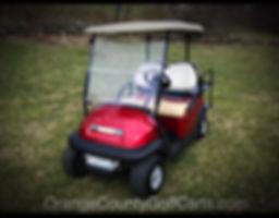 Precedent Golf Cart