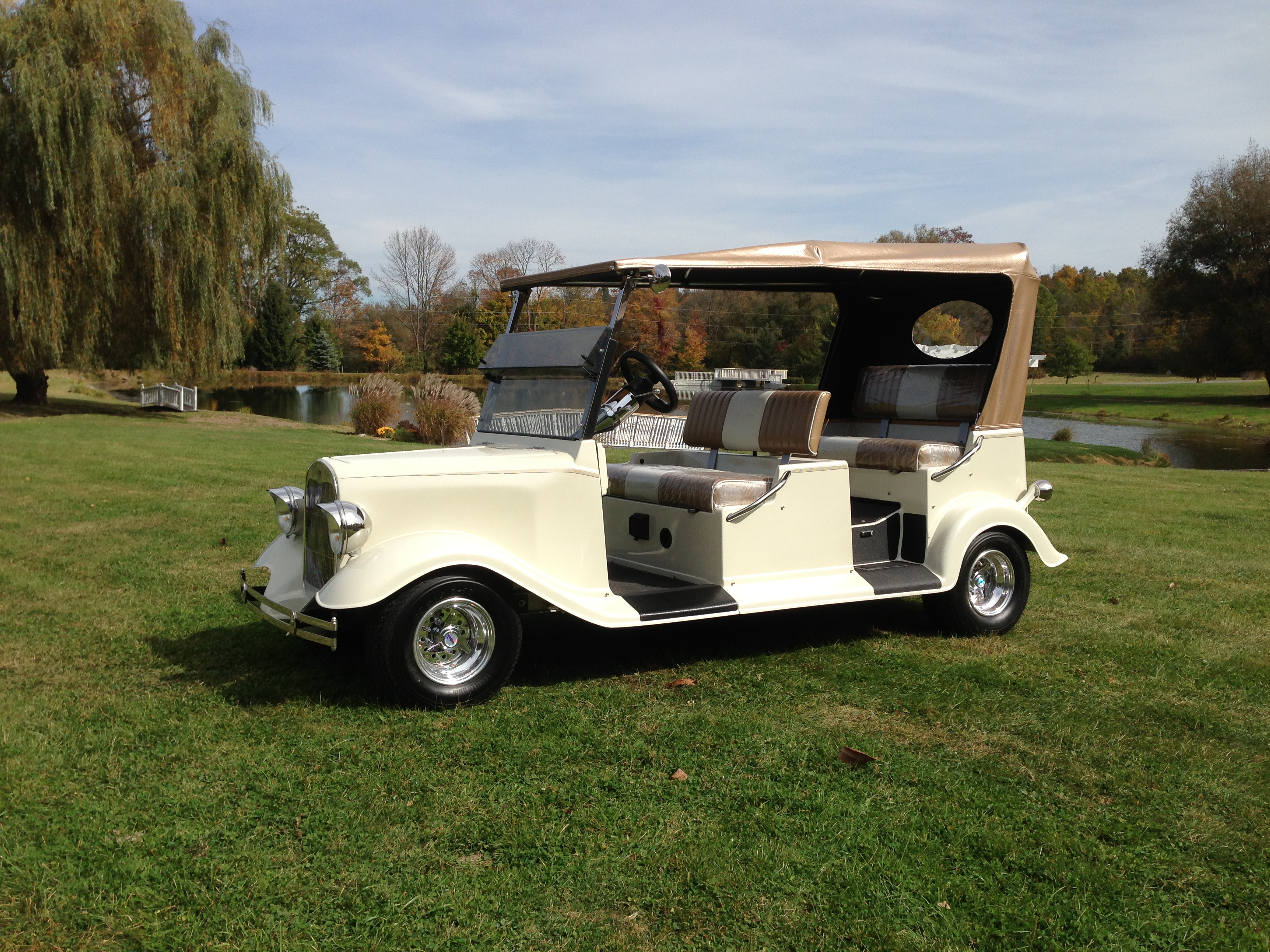 Custom Street Rod Golf Carts Diane