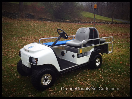 Brute emt golf cart