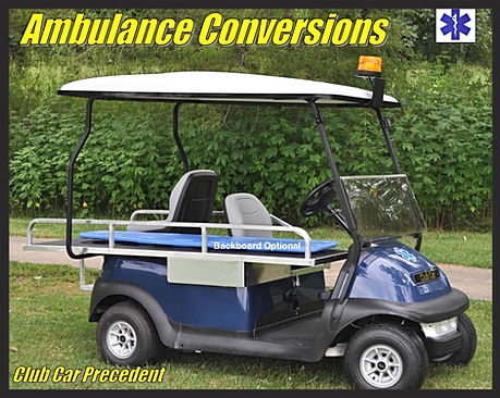 MEDICAL GOLF CART emt ems emv vehicles first responder