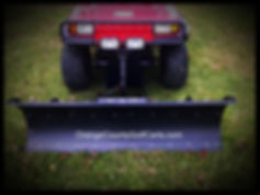 snow plow kit golf cart