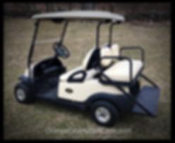 Precedent Golf Cart for rent