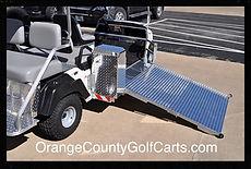 BRUTE Power ramp lift ADA cart