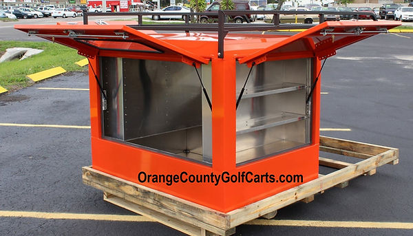 Kubota Drop-in Van Box wLadder Rack