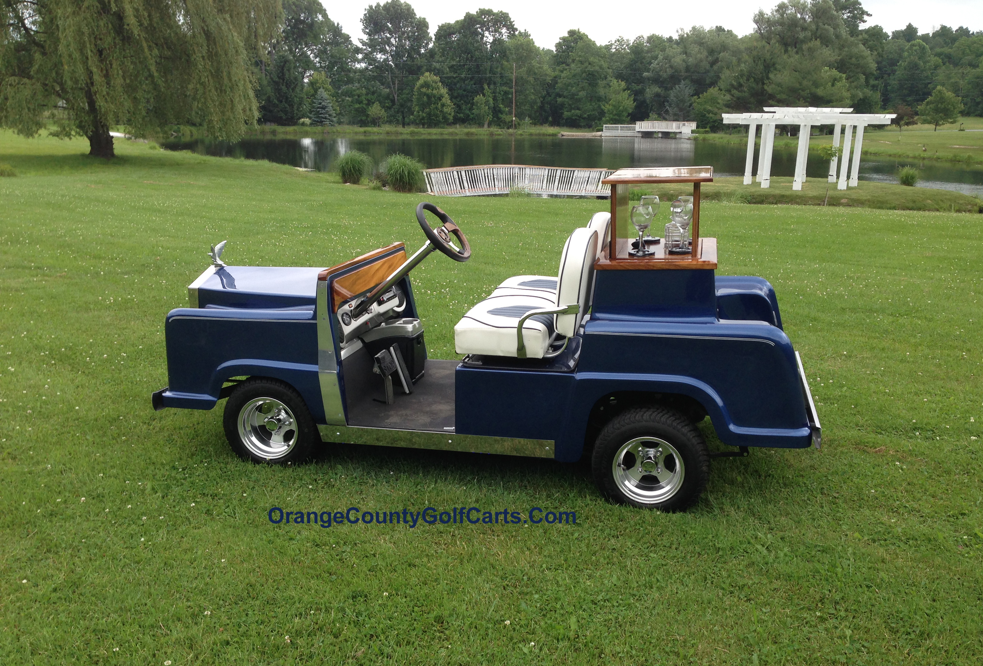 Rolls Royce Golf Cart