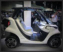 Mercedes Benz Garia Golf Car
