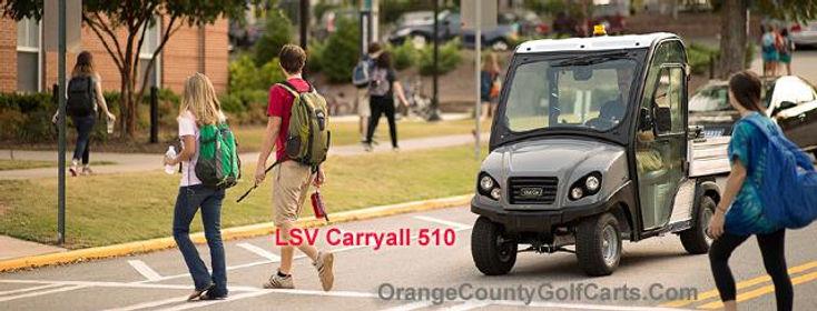 LSV SECURITY GOLF CART