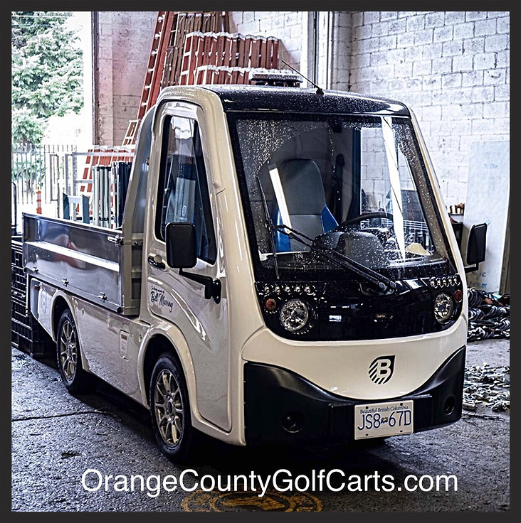 Electric street legal truck cart