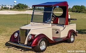 Streetrod Diane Luxury golf cars
