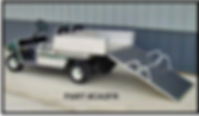 Golf Car folding ramp