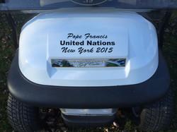Pope Francis Popemobiles