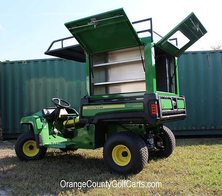 John Deere Cart Van Box