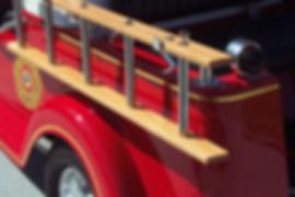 Fire Truck golf cart Diane