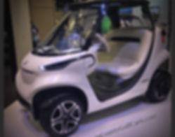 Mercedes-Benz Style golf car