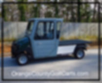 cab golf cart
