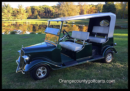 Luxury Golf Cars by Diane