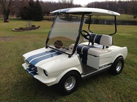 Mustang GT 350 golf cart