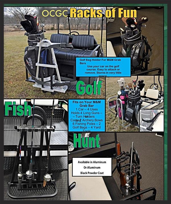 golf cart racks