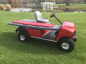 EMT Emergency Medical Vehicles   Golf Cart ambulance