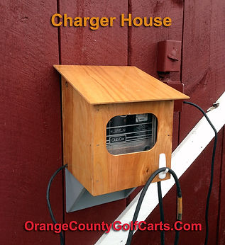 golf cart charger house