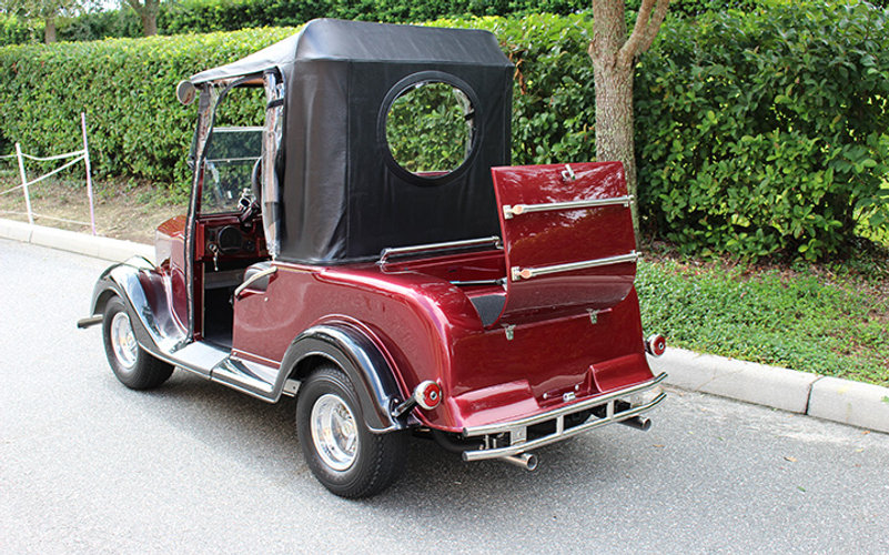 Custom golf cart by DIANE streetrod