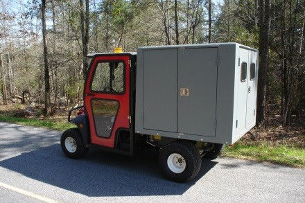 Toro Golf Cart Van Box