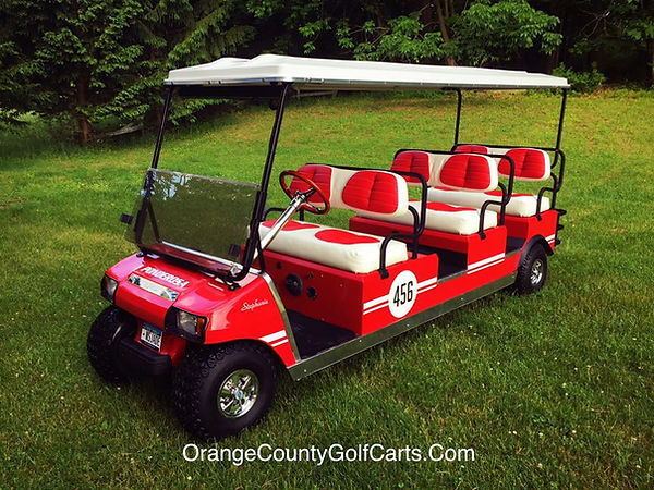 Diane custom golf carts