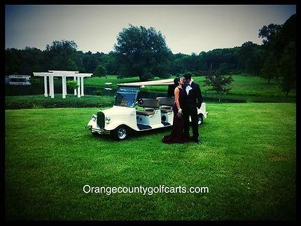 luxury golf car