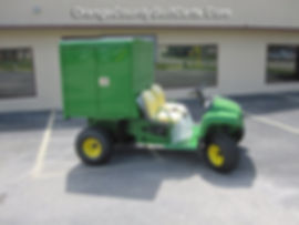 John Deere Golf Cart Van Box